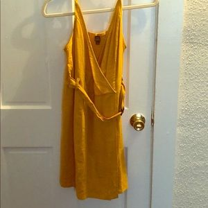 Wild Fable Yellow Mini Dress